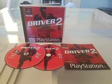 Driver 2 - PS1 (Sony Playstation 1) Complete (PAL) Black Label