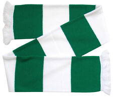 Celtic Supporters Green and White Retro Bar Scarf