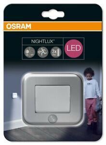 Osram LED Nachtlicht Nightlux Hall silber  Nachtlicht  Nachtlichter