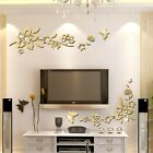 Removable Wall Stickers 3 Color Flower Vine Decor Home Decoration Hot New