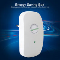 Electric Saver Power Factor Save Electricity Power Energy Saver Box EU/UK Plug B