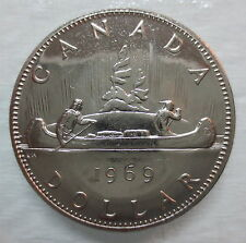 1969 CANADA VOYAGEUR DOLLAR PROOF-LIKE COIN - A