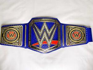 Universal Championship Replica Title Belt Blue Brass 2MM Brass Adult Size