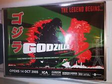 GODZILLA (1954 Re-Release) 30x40 UK BFI Original Rolled Limited Edition Poster B
