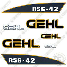 Gehl Rs6 42 Decal Kit Telescopic Forklift Rs6 42 Replacement Stickers