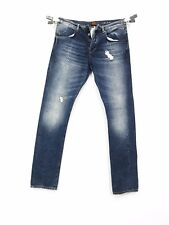 VINTAGE SUPERDRY  THE FOUNDRY LOW MEN'S BLUE JEANS W34 L34 WITH TAGS  7
