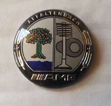 Coloured AMG Affalterbach emblem Mercedes Multimedia Control knob Badge Sticker