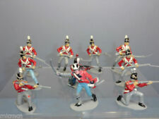 Painted Plastic 6-10 Pieces Military Personnel Timpo Toy Soldiers