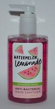 BATH & BODY WORKS WATERMELON LEMONADE ANTI BACTERIAL HAND SANITIZER GEL 7.6 OZ