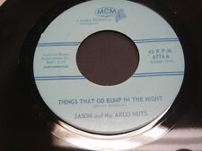 Jason And The Argo Nuts Things That Go Bump In The Night 45 Rare Maine Garage