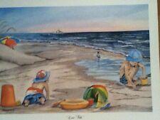 """Low Tide"" Charleston water color print by Marilyn Morris Birthday gift"