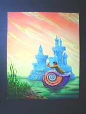 "WALOTSKY ORIGINAL ILLUSTRATION ART PAINTING  ""GOLEM IN THE GEARS"" PIERS ANTHONY"
