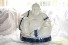 """Chinese Happy Buddha Asian 12"""" tall. 1900-1940"""
