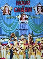 Vintage Uncut 1943 Hour Of Charm Paper Dolls~#1 Reproduction~Wonderful Wwii Set!