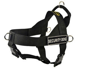 """Dean & Tyler """"DT Universal No Pull"""" Nylon No-Pull Harness with Removable Patches"""