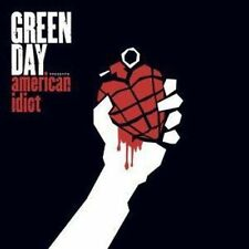 Green Day American Idiot 2 X Red White Black Coloured Vinyl LP 2015 &