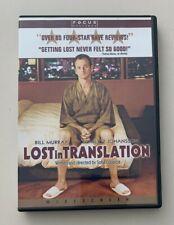 Lost in Translation (2003) Dvd - Bill Murray, Scarlett Johanssen