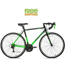 "Kent Road Bike 22.5"" 700c Men Sport Race Bicycle Shimano Green Black New!"