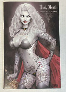 Lady Death (Icon #1) Inked Edition  Ltd 199  Nathan Szerdy Cover