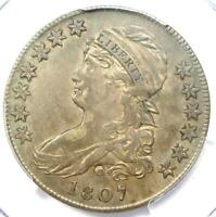 1807 Capped Bust Half Dollar 50C Coin - Certified PCGS XF Details (EF)!
