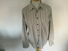Fat Face Mens Striped Long Sleeve Shirt Size L. Good Condition.