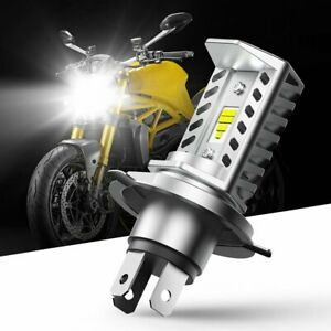 H4 9003 HB2 LED Motorcycle Headlight Bulb Hi/Low Beam 6500K High Power Light CN