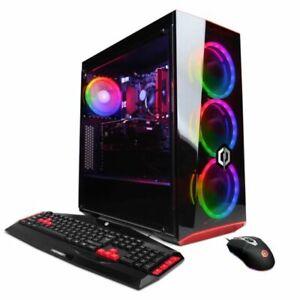 CyberPowerPC GXIVR8060A7 i5 2.9GHz 8GB PC Desktop - Black