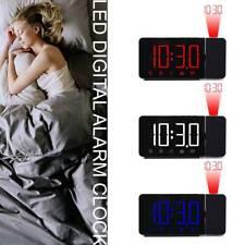 New ListingLed Digital Projection Lcd Display Alarm Clock with Fm Radio Function New