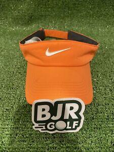 New Ladies Peach Orange Nike Golf OSFA Adjustable Golf Visor