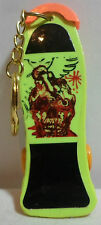 GLOBO VTG 80's SKATEBOARD FINGERBOARD KEY CHAIN RING TAIWAN MADE UNUSED A