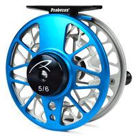 Fly Fishing Wheel 5/6-7/8-9/11 WT CNC Aluminum Fly Reels Large Arbor Die Casting
