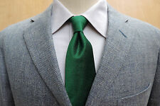 DUNHILL SUMMER Silk Linen & Wool Blue Gray Weave Patch Pkt Sport Coat 42R Spain