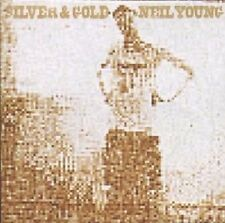 "Neil young ""silver and gold"" CD NEUF"