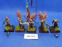 Warhammer Fantasy/40K - Chaos Daemons - Damonettes of Slaanesh Painted - WF302