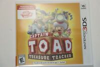 Nintendo 3DS 2DS CAPTAIN TOAD TREASURE TRACKER (2018) NEW SEALED SHIPS SAME DAY