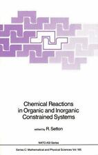 Nato Science Series C: Chemical Reactions in Organic and Inorganic...