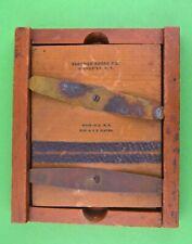 Eastman Kodak Adjustable Auto Mask Wood Wooden 4 X 5 Contact Print Frame