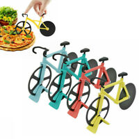 Bike Pizza Cutter Road Bicycle Stainless Steel Chopper Slicer Kitchen Tool