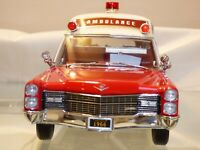 1:18 Precision 1966 Cadillac Deville Superior Ambulance Rare Toy Collectible
