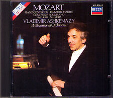 ASHKENAZY: MOZART Piano Concerto No.12 13 Decca CD 1983 Vladimir Klavierkonzerte