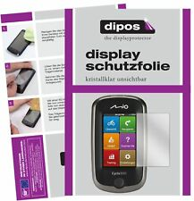 3x Mitac Mio Cyclo 300 Europe Schutzfolie klar Displayschutzfolie Folie Display