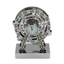 Widdop WM Motorbike /& Sidecar Novelty Desktop Collectors Miniature Clock 9700