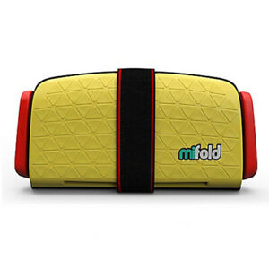 Mifold Grab-n-Go Booster Car Seat - Yellow