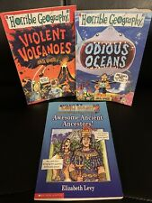 Lot Of 3 Horrible Geography & Horrible History