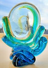 Vintage Mdina Art Glass Freeform Sculpture Michael Harris (Unsigned) 14 cm