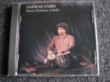Sarwar Sabri-Master Drummer of India CD-Made in Switzerland
