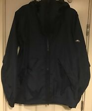 Penfield Squall Water/wind Resistant Hooded Jacket Blue Size S (lot27)