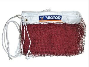 100% VICTOR C7004A Badminton racket racquet NET BWF approved for Int'l play