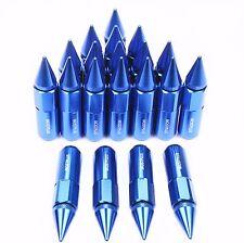 20PCS 60MM M12X1.5 Blue Racing Performance Wheel Lug Nuts For Honda