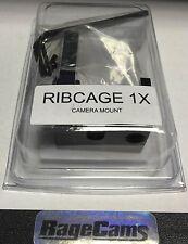 RIBCAGE BACKBONE 1x MOUNT MOD KIT FOR GOPRO HD HERO4 CAMERA BLACK SILVER MOD1X